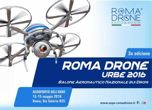 RomaDroneUrbe2016_LocandinaOrizz260216